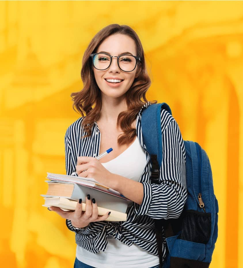 Foto Studentin Auslandsstudium